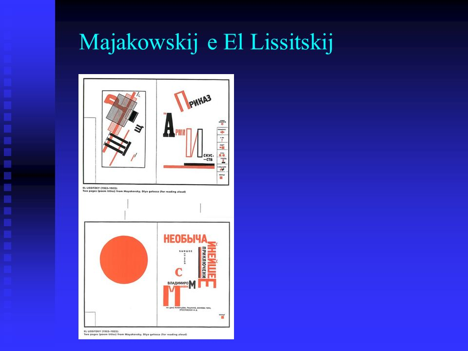 Majakowskij e El Lissitskij