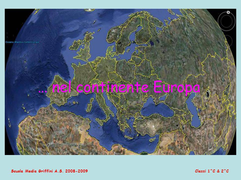 … nel continente Europa
