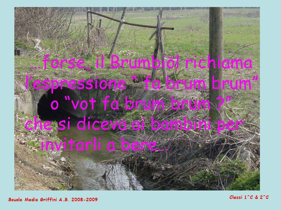 …forse, il Brumbiöl richiama l'espressione fa brum brum