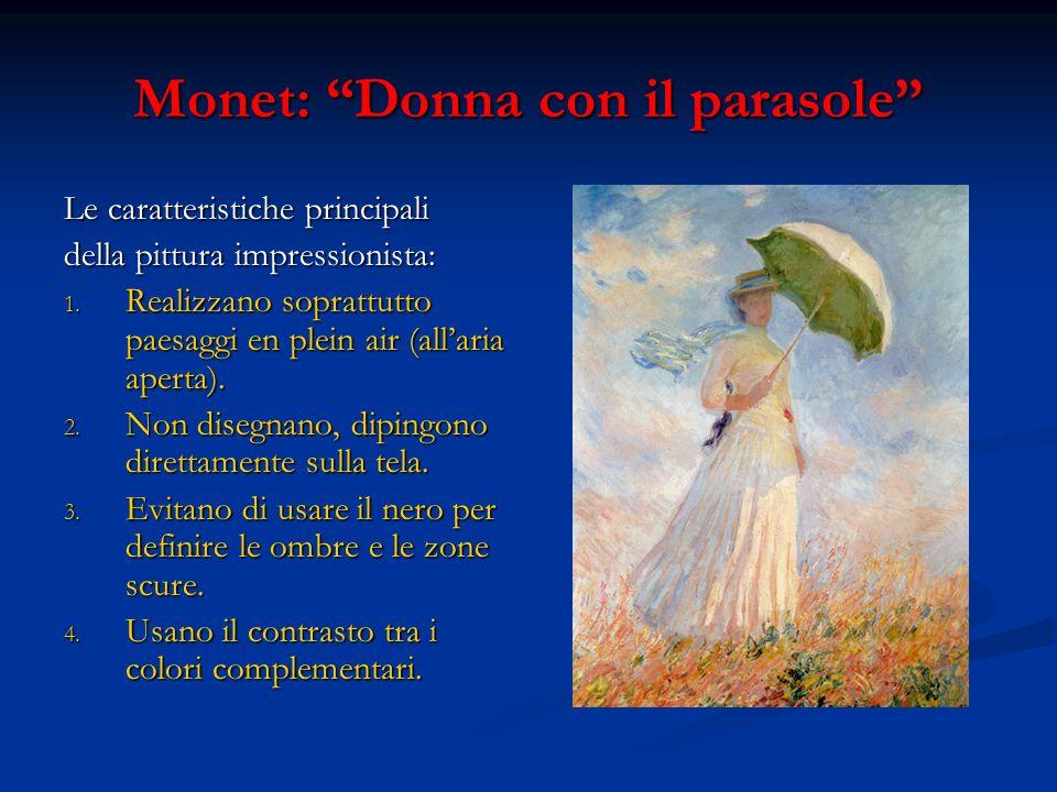 Monet: Donna con il parasole