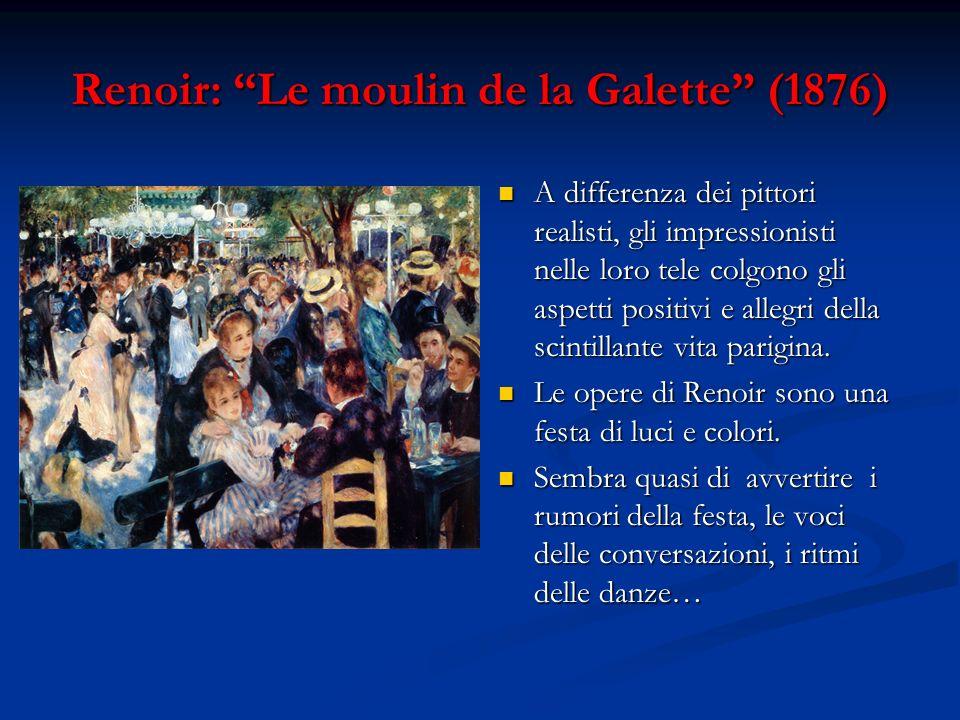Renoir: Le moulin de la Galette (1876)