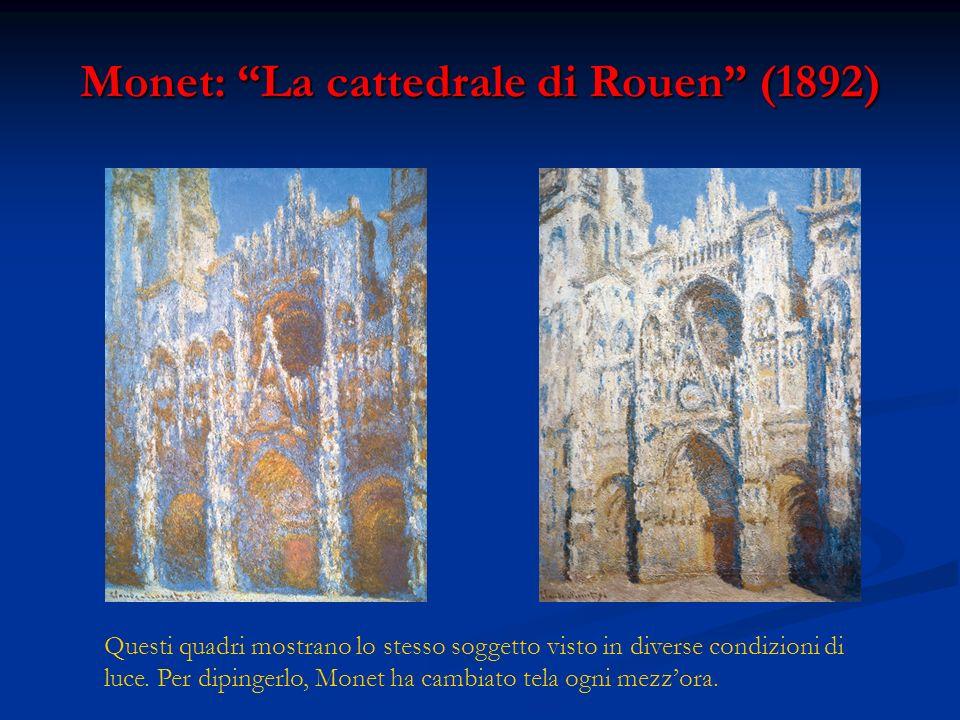 Monet: La cattedrale di Rouen (1892)
