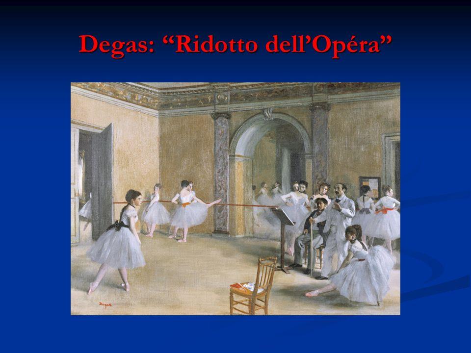 Degas: Ridotto dell'Opéra