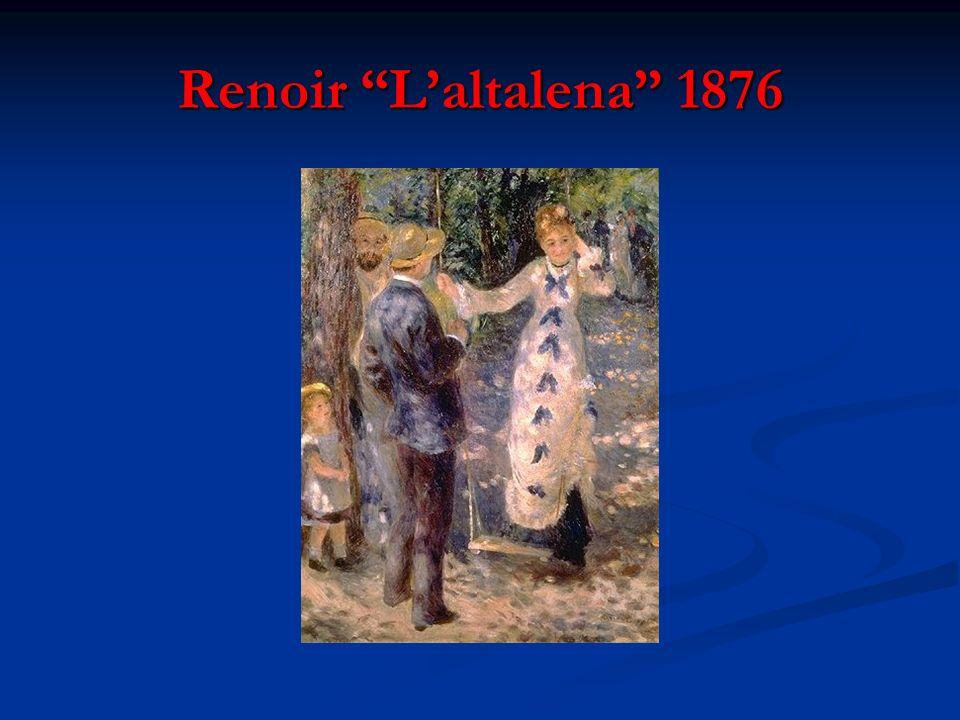 Renoir L'altalena 1876