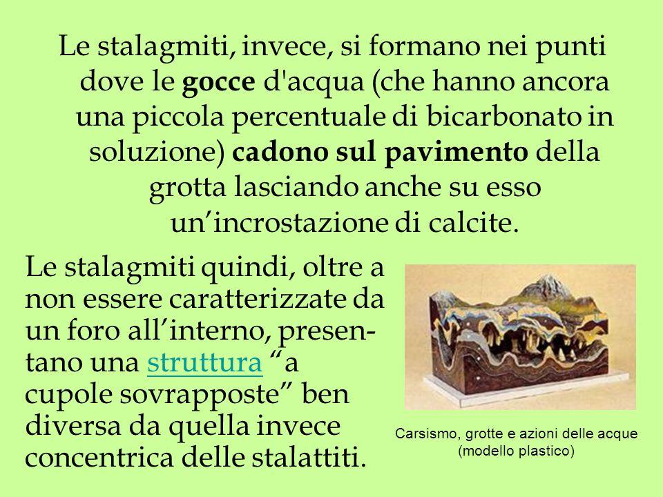Carsismo, grotte e azioni delle acque (modello plastico)