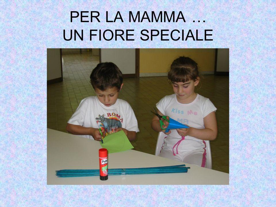 PER LA MAMMA … UN FIORE SPECIALE