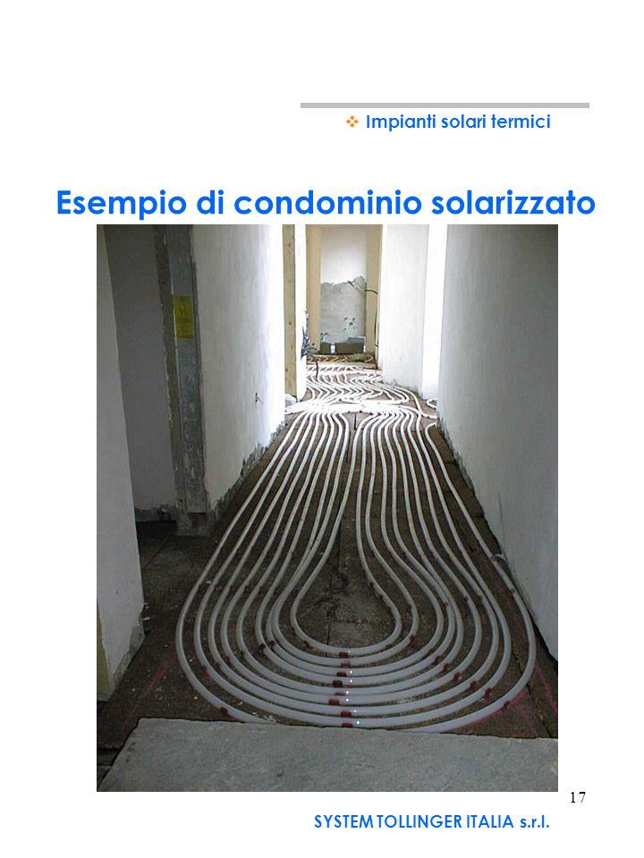 Esempio di condominio solarizzato