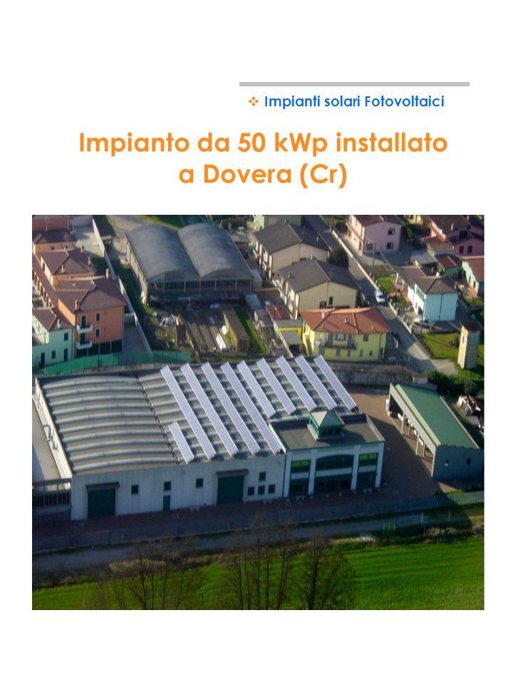 Impianto da 50 kWp installato a Dovera (Cr)