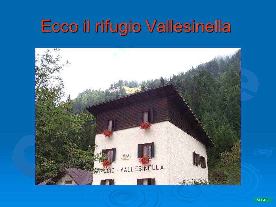 Ecco il rifugio Vallesinella