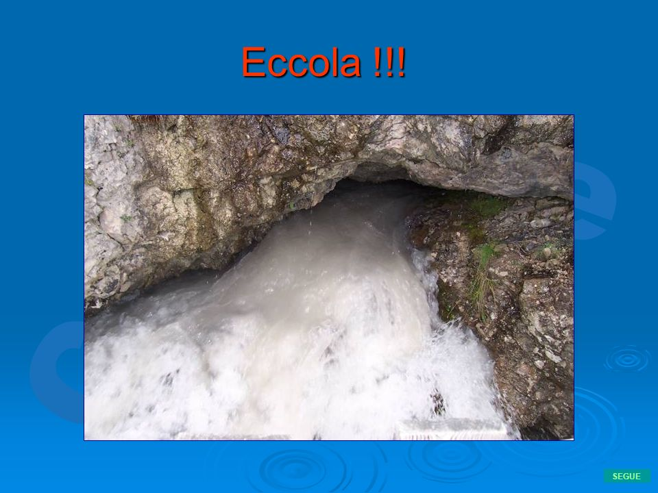 Eccola !!! SEGUE
