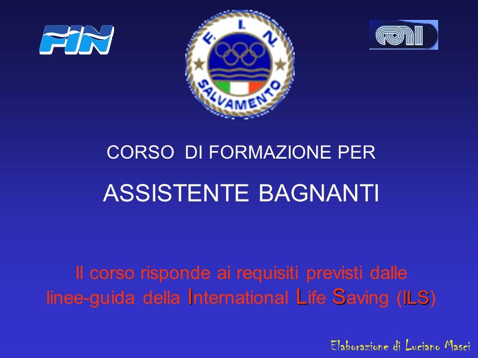 ASSISTENTE BAGNANTI CORSO DI FORMAZIONE PER