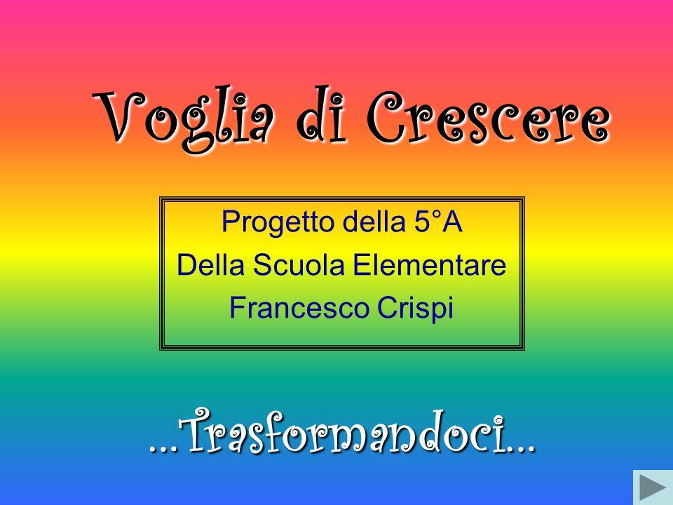 Progetto della 5°A Della Scuola Elementare Francesco Crispi