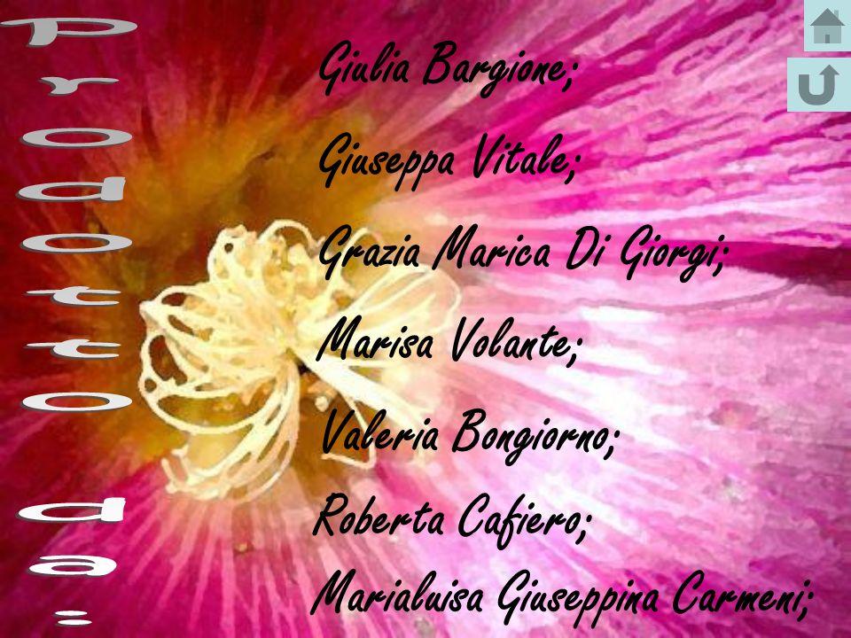Grazia Marica Di Giorgi; Marisa Volante; Valeria Bongiorno;