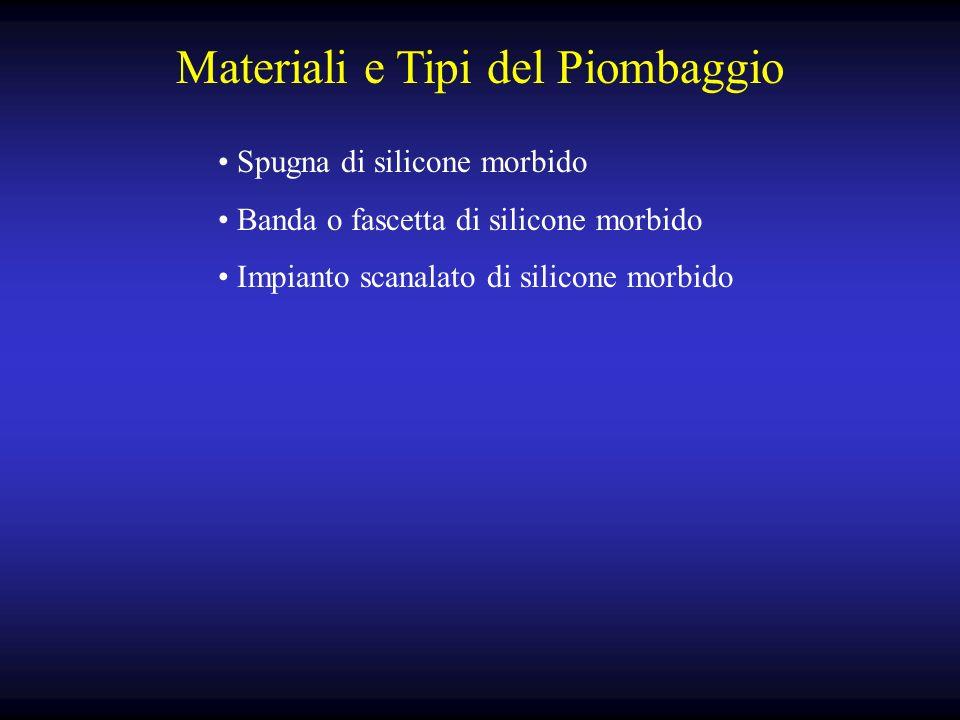 Materiali e Tipi del Piombaggio