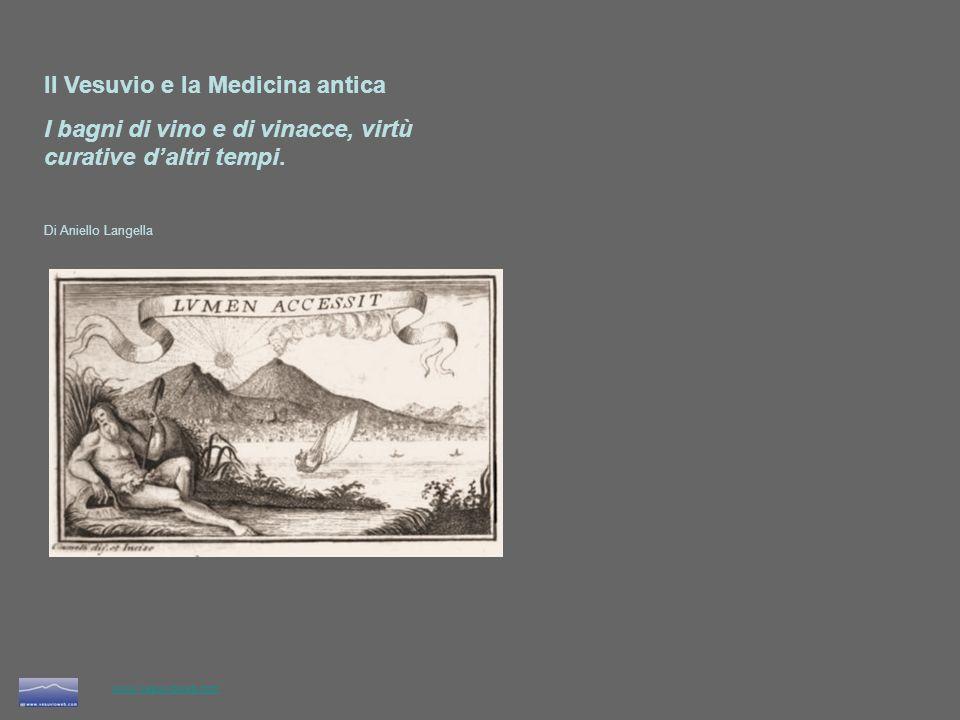 Il Vesuvio e la Medicina antica