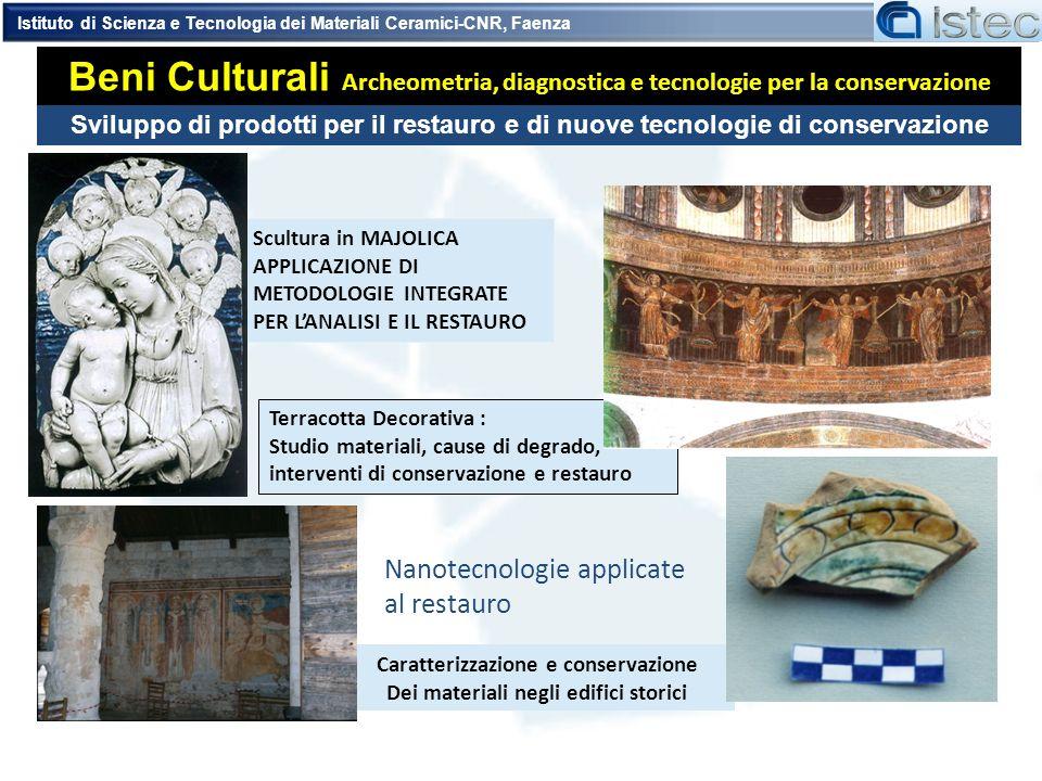 Caratterizzazione e conservazione Dei materiali negli edifici storici