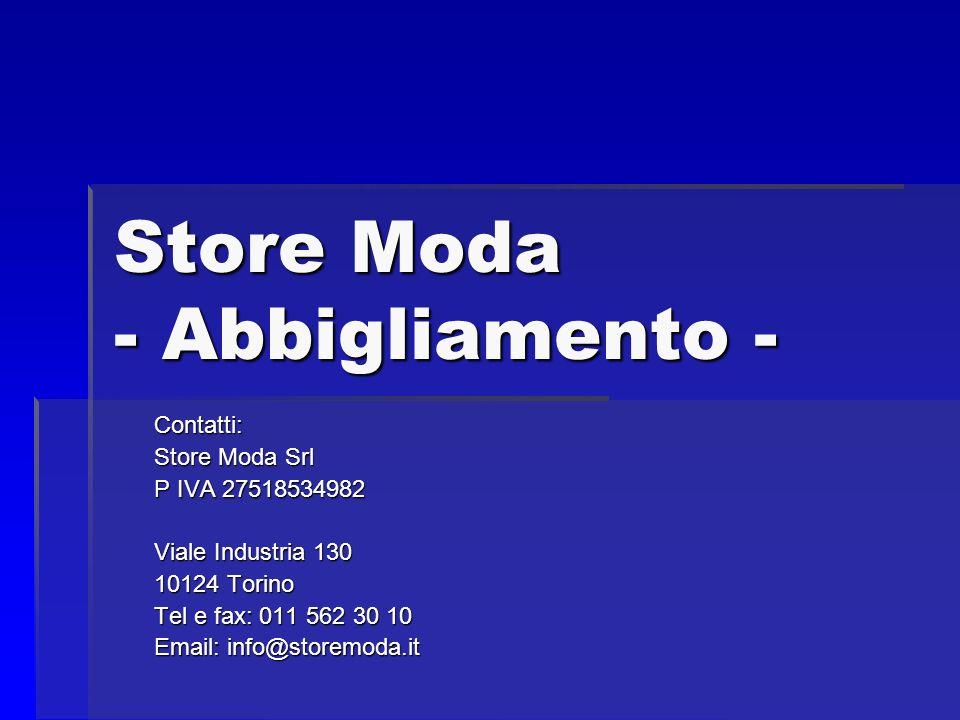Store Moda - Abbigliamento -