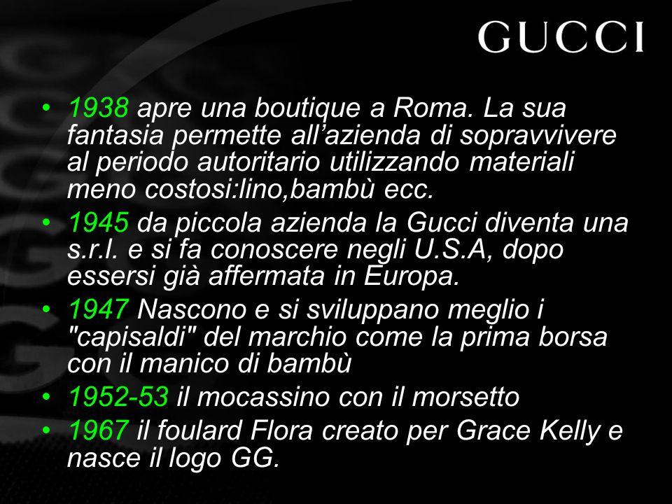 1938 apre una boutique a Roma