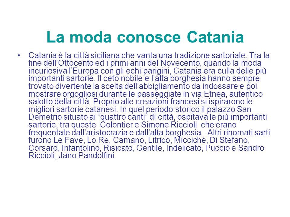La moda conosce Catania