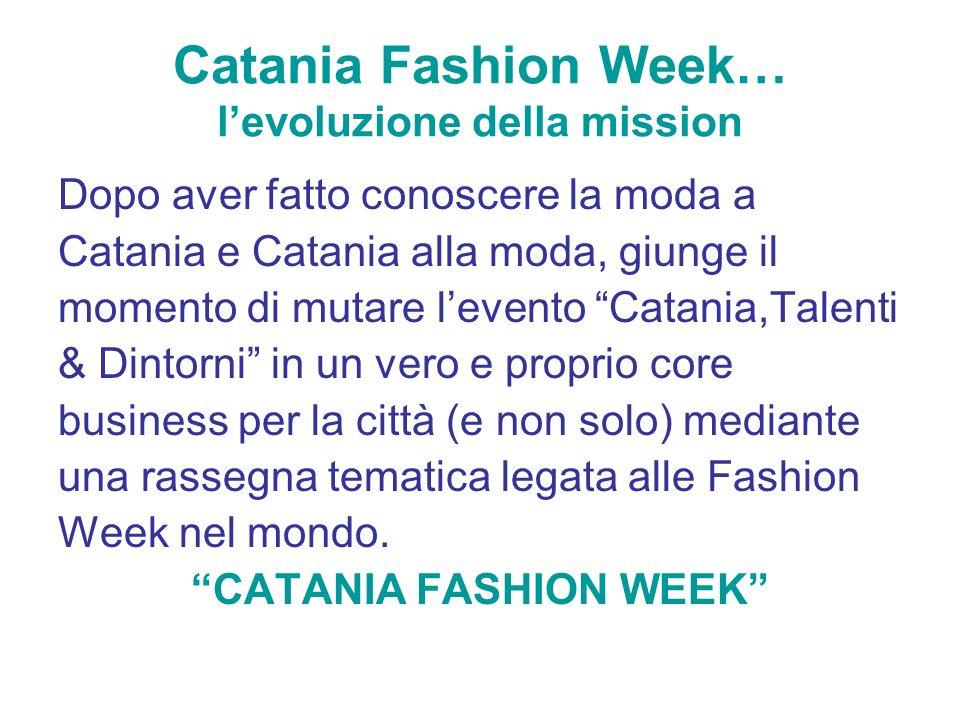 Catania Fashion Week… l'evoluzione della mission