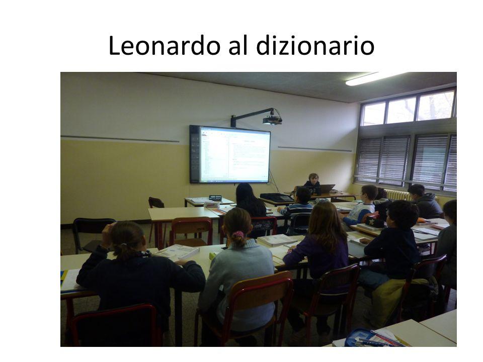 Leonardo al dizionario
