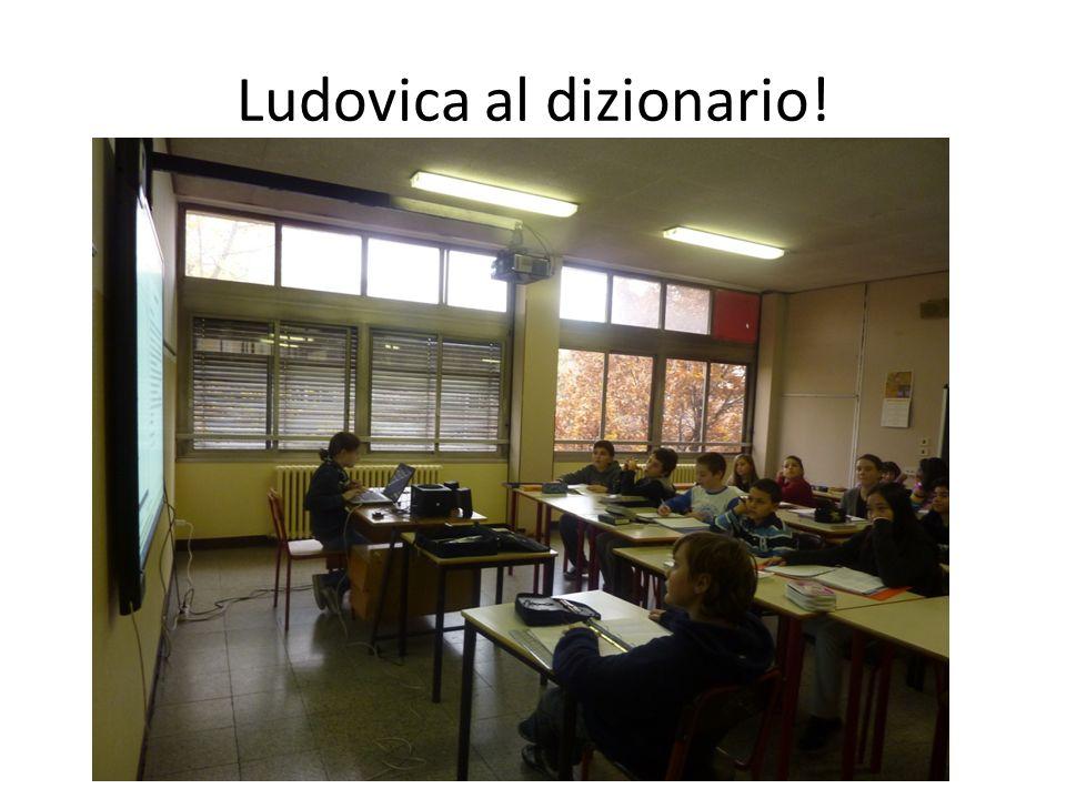 Ludovica al dizionario!