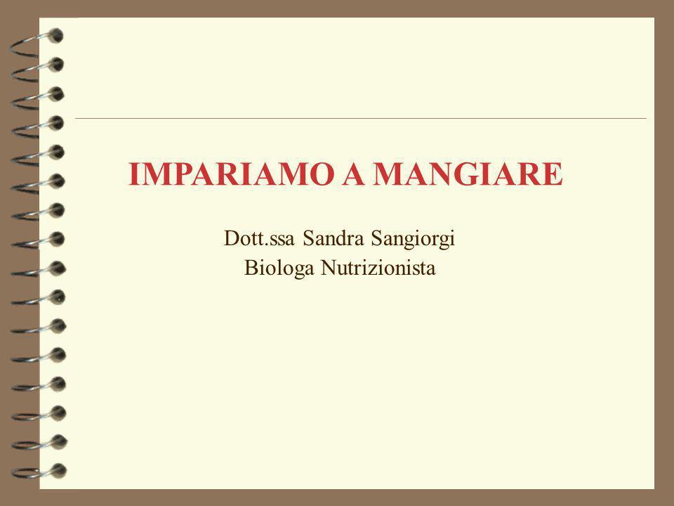 Dott.ssa Sandra Sangiorgi