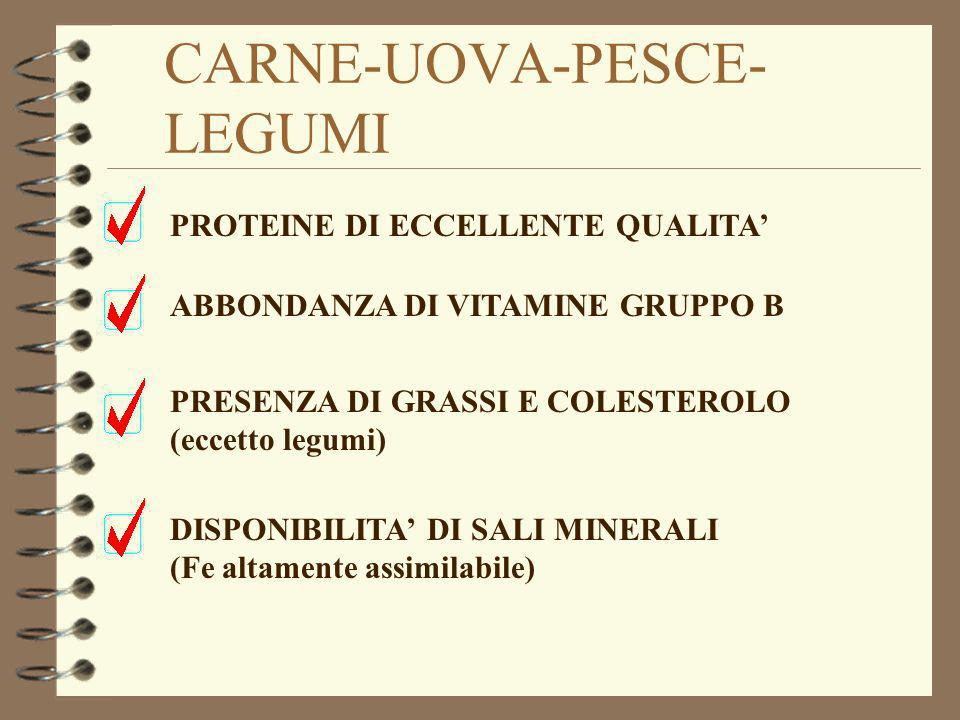 CARNE-UOVA-PESCE-LEGUMI