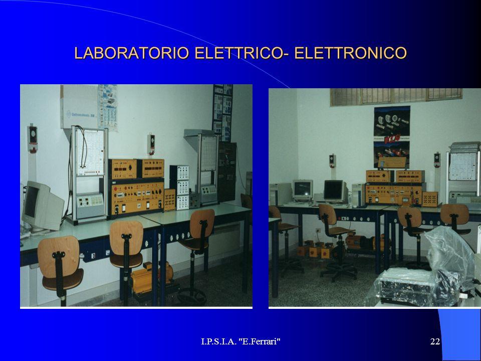 LABORATORIO ELETTRICO- ELETTRONICO