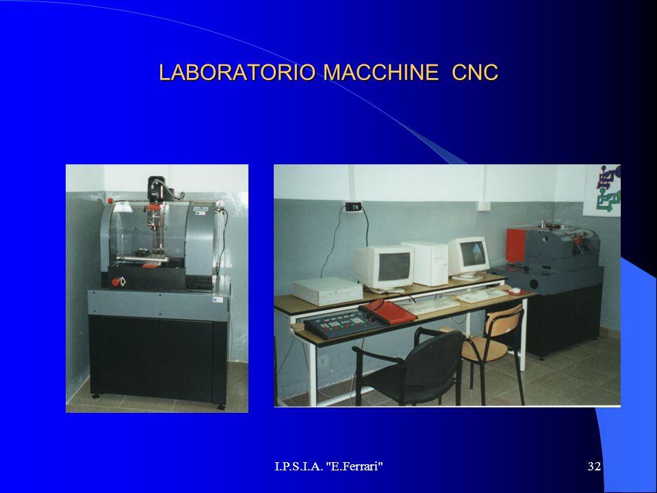 LABORATORIO MACCHINE CNC