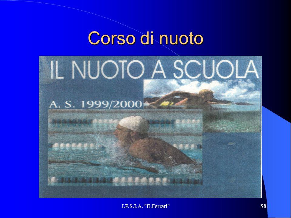 Corso di nuoto I.P.S.I.A. E.Ferrari