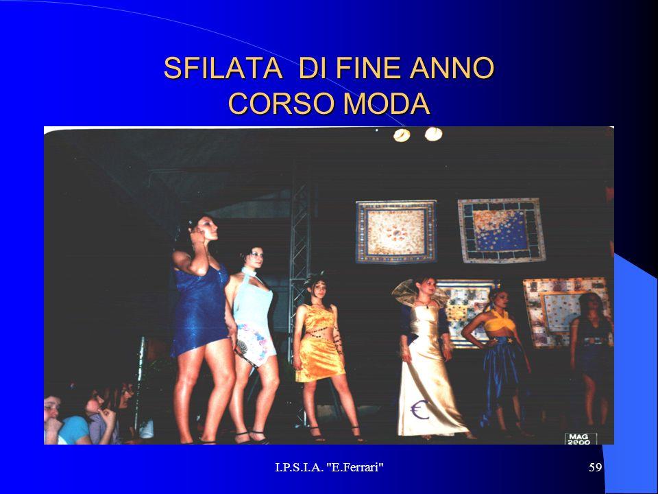 SFILATA DI FINE ANNO CORSO MODA
