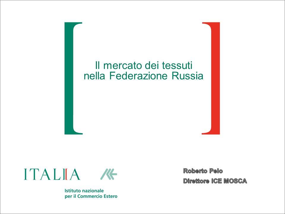 Il mercato dei tessuti nella Federazione Russia