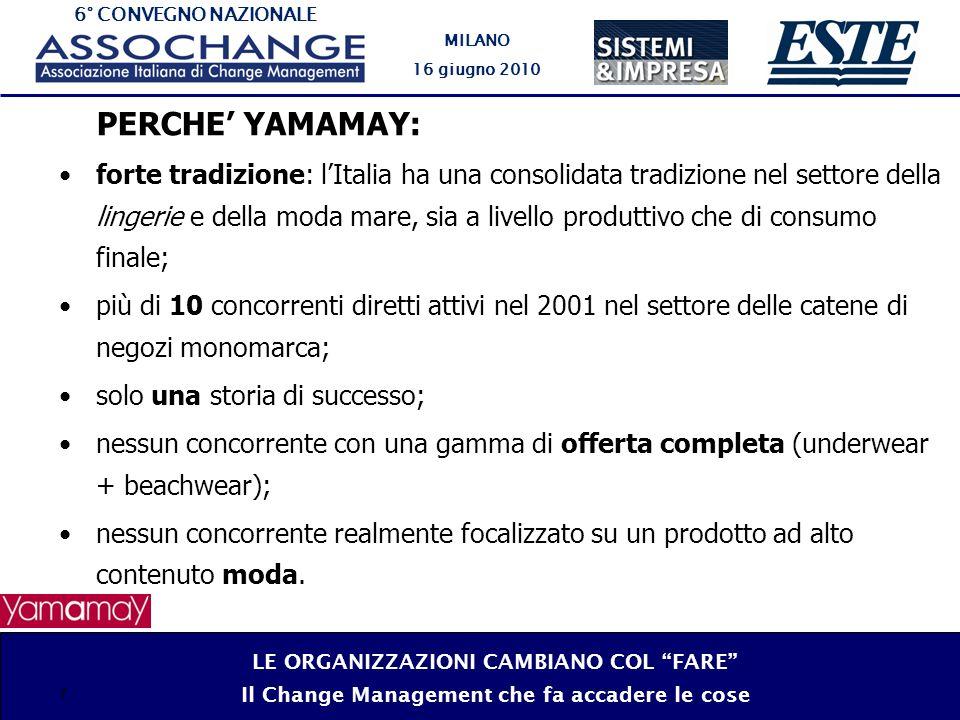 PERCHE' YAMAMAY: