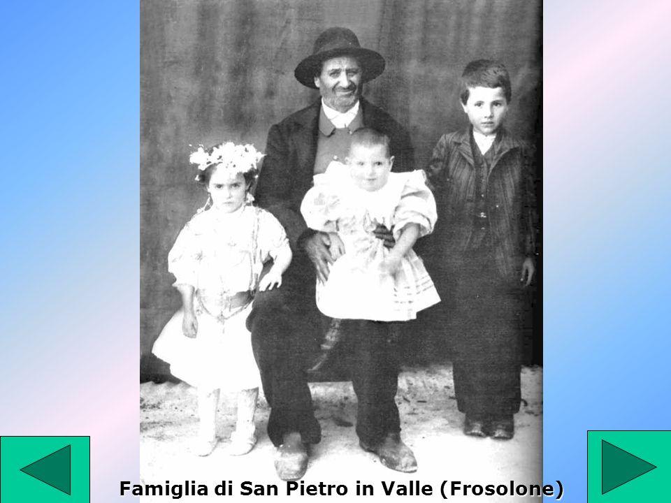 Famiglia di San Pietro in Valle (Frosolone)