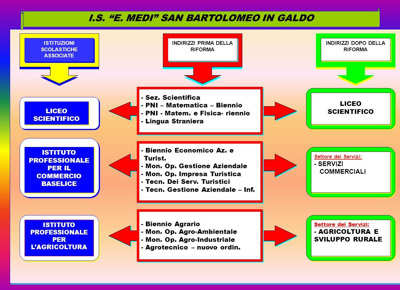 I.S. E. MEDI SAN BARTOLOMEO IN GALDO