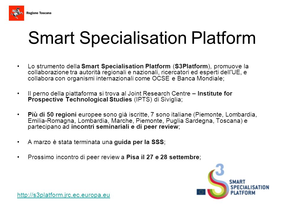 Smart Specialisation Platform