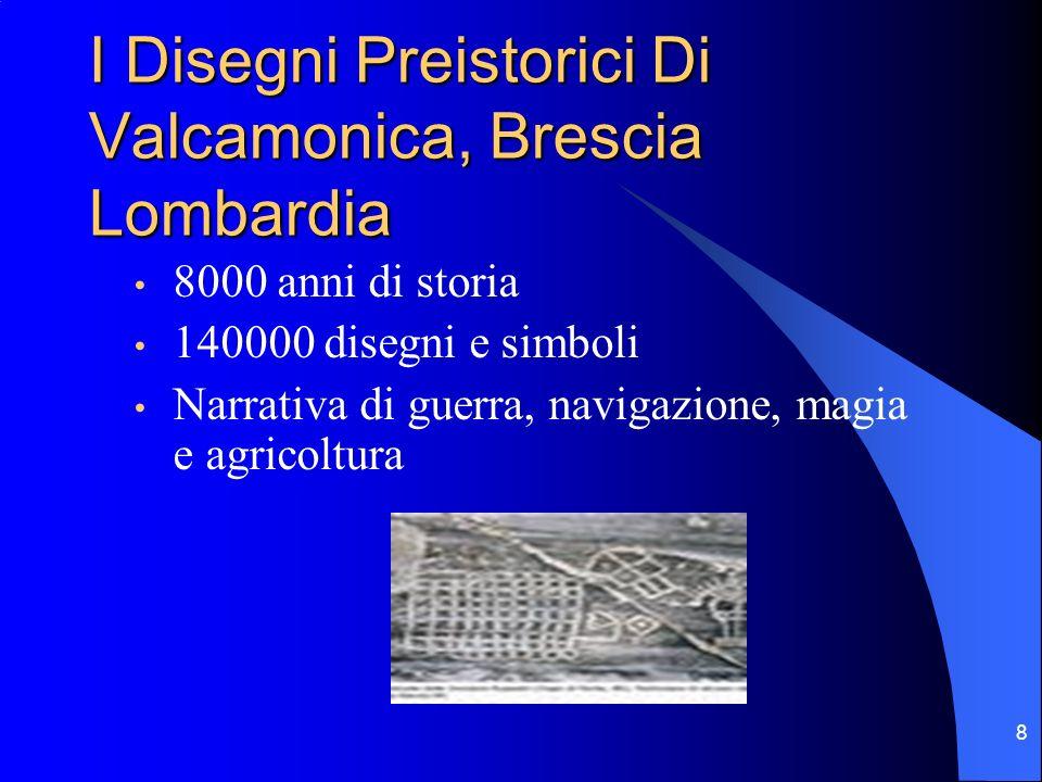 I Disegni Preistorici Di Valcamonica, Brescia Lombardia