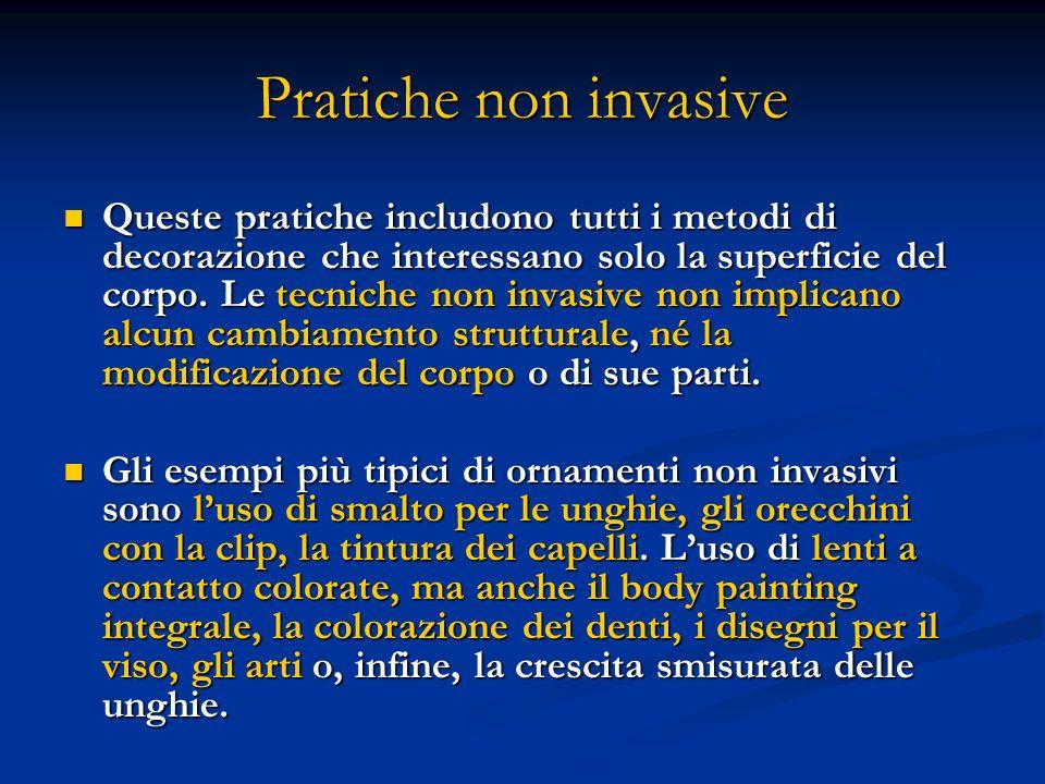 Pratiche non invasive