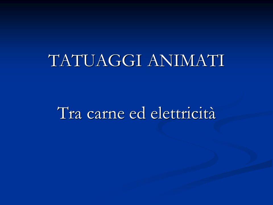 Tra carne ed elettricità