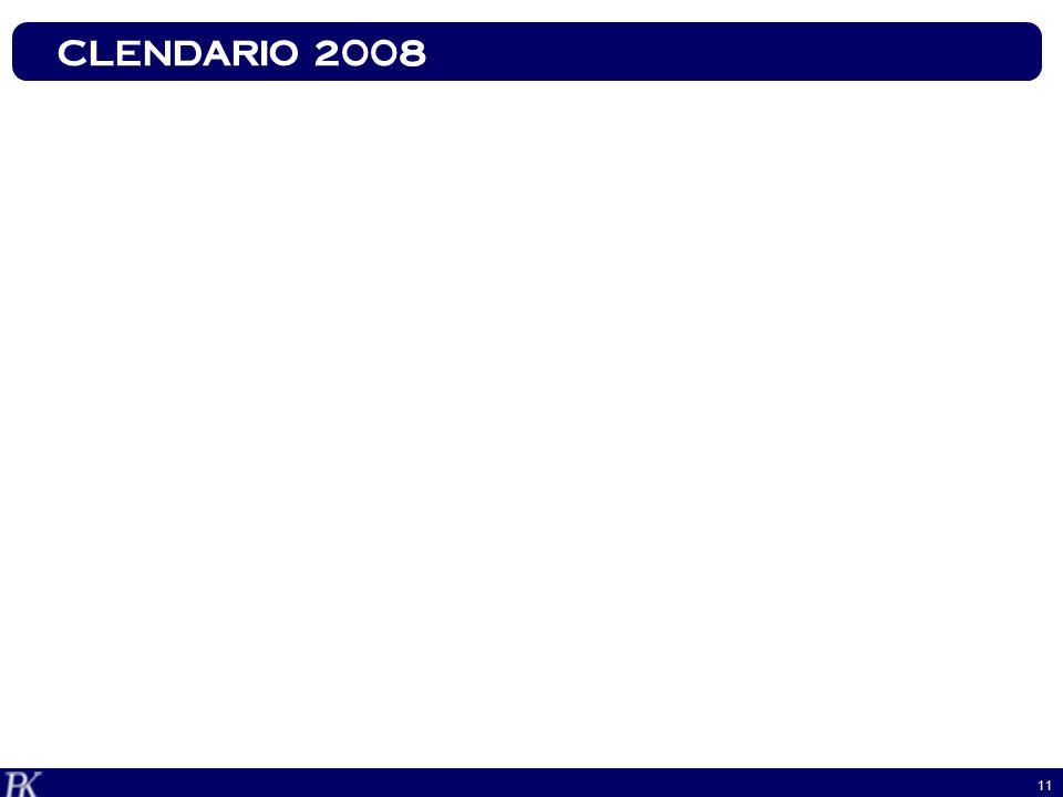CLENDARIO 2008