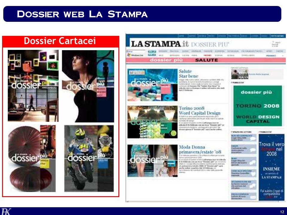 Dossier web La Stampa Dossier Cartacei