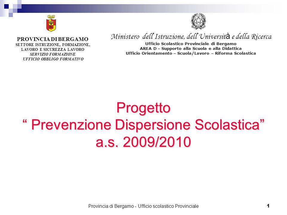 Prevenzione Dispersione Scolastica a.s. 2009/2010