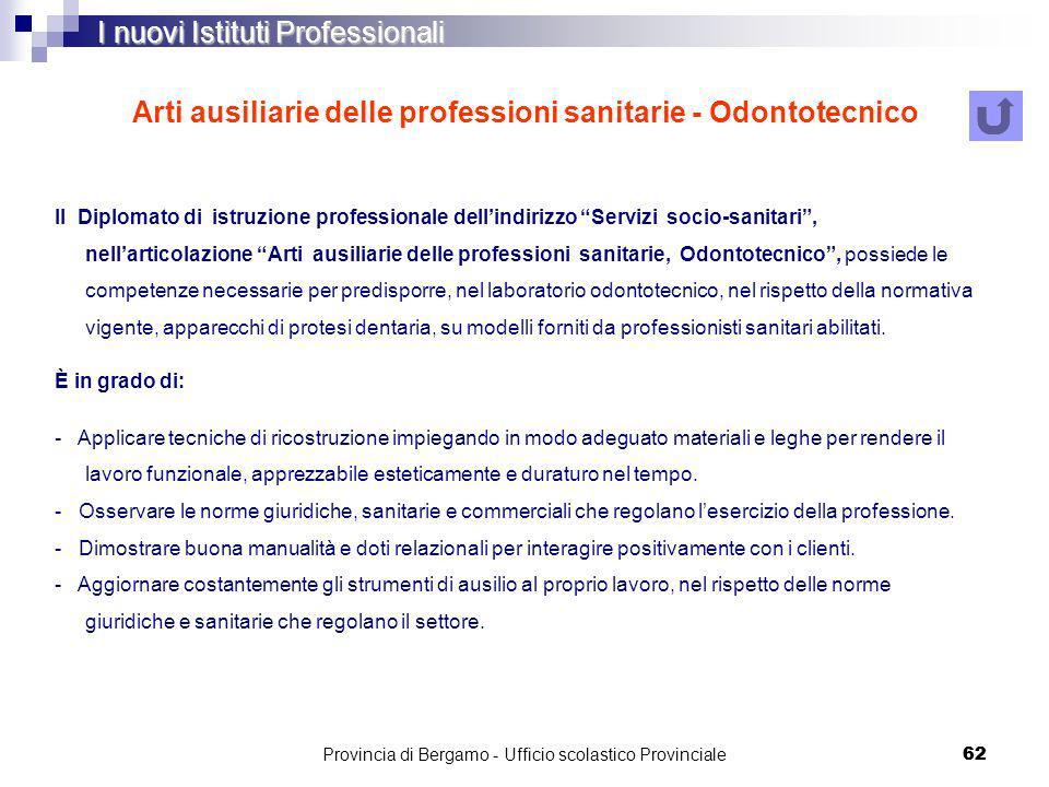 Arti ausiliarie delle professioni sanitarie - Odontotecnico