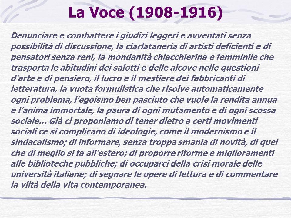 La Voce (1908-1916)