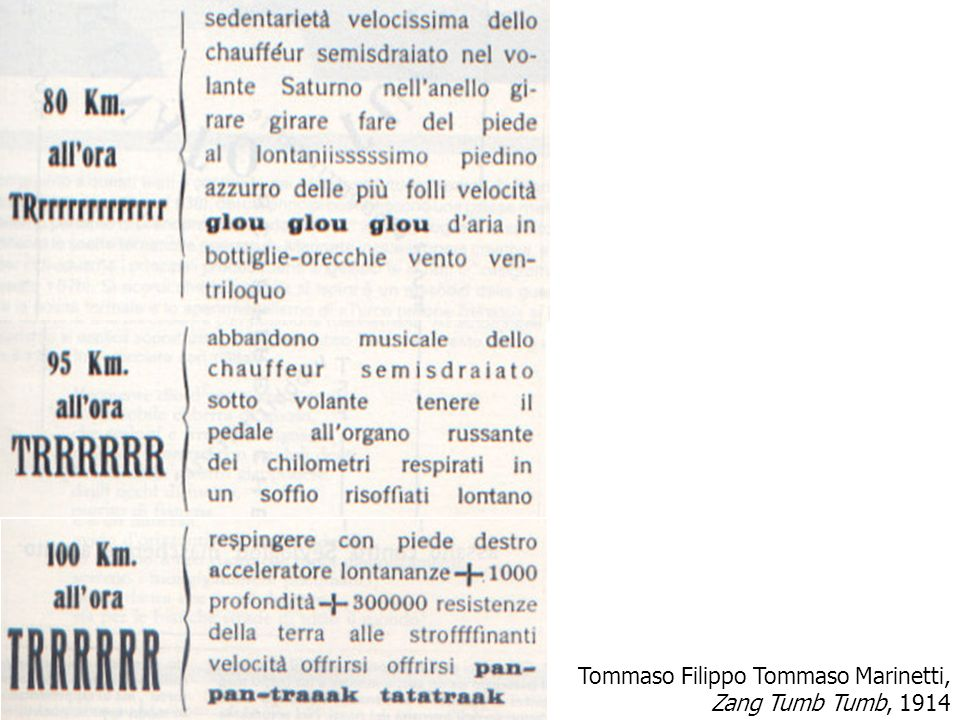Tommaso Filippo Tommaso Marinetti,