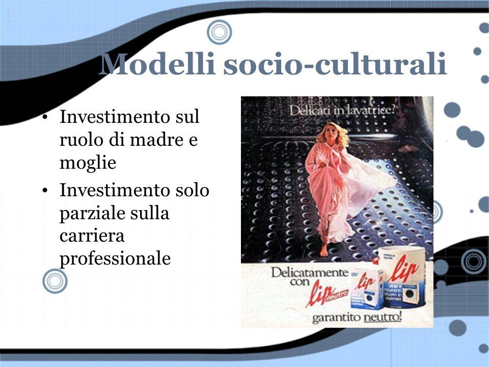 Modelli socio-culturali