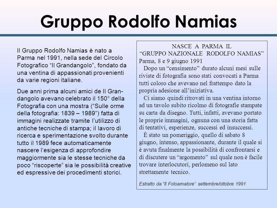 GRUPPO NAZIONALE RODOLFO NAMIAS