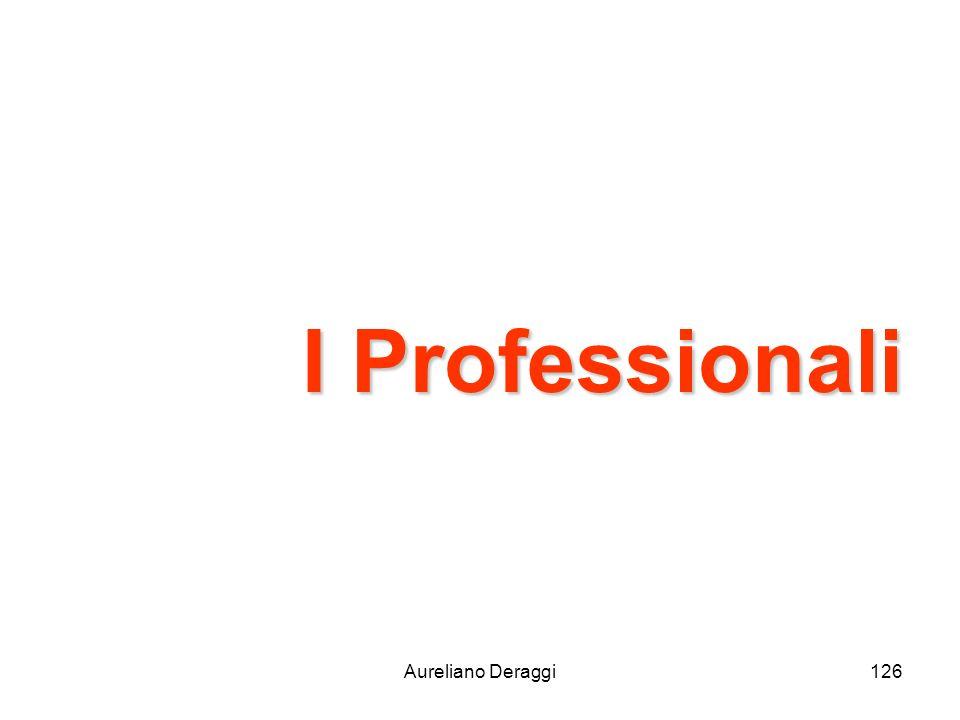I Professionali Aureliano Deraggi