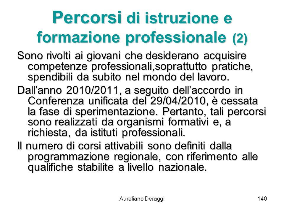 Percorsi di istruzione e formazione professionale (2)